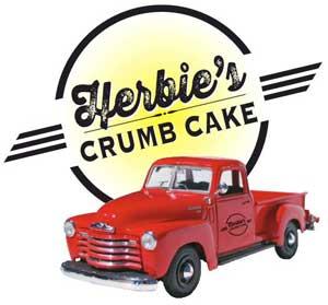 Herbie's crumb cake logo