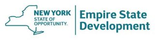 New York Empire state development logo