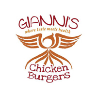 Giannis chicken burgers logo