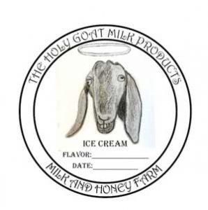 Holy Goat Milk company logo