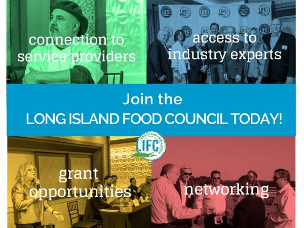 Long Island Food Council 2019 Membership drive flyer