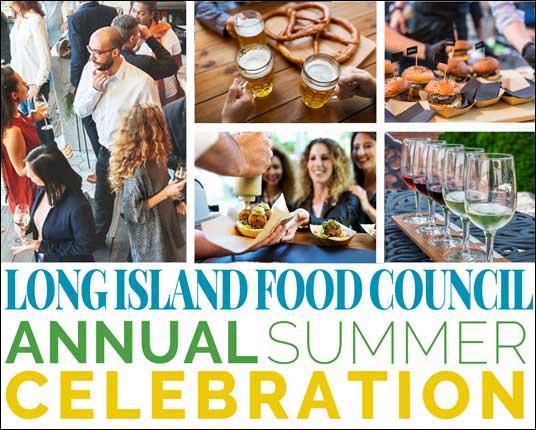 Networking event summer celebration flyer