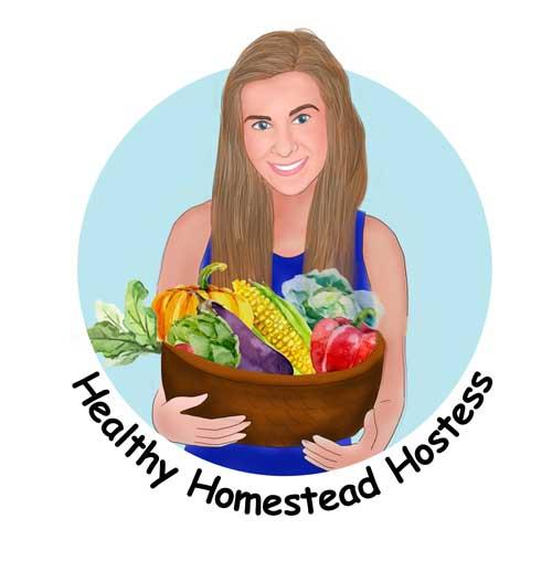 Healthy Homestead Hostess logo