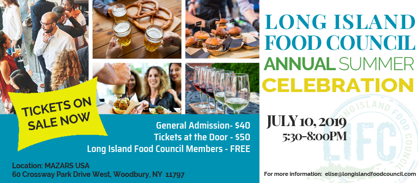 Long Island Food Council networking event