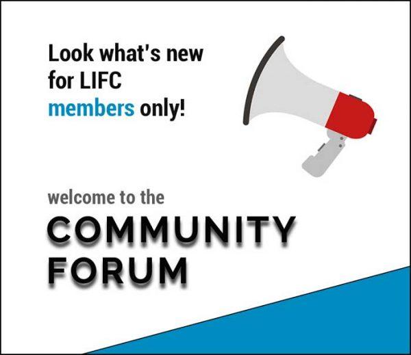 LIFC community forum