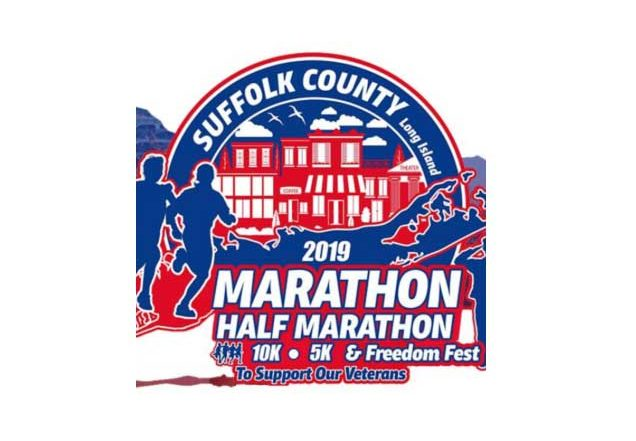 2019 Suffolk county Marathon logo