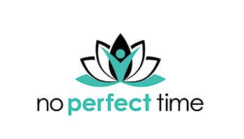 no perfect time company logo