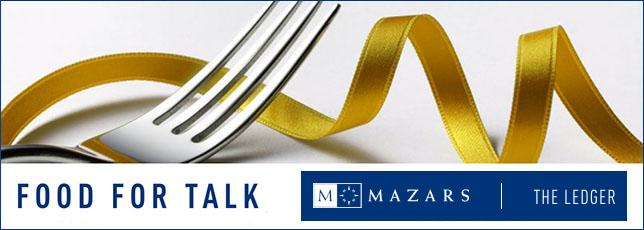 MAZARS food for talk logo