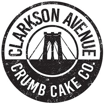 Clarkson Avenue Crumb Cake Company logo