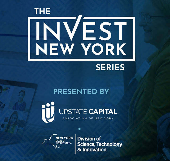 Invest NY event flyer