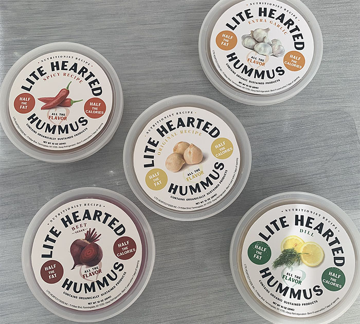 lite hearted hummus logo