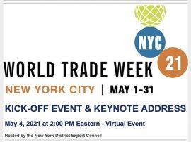 World Trade Week flyer