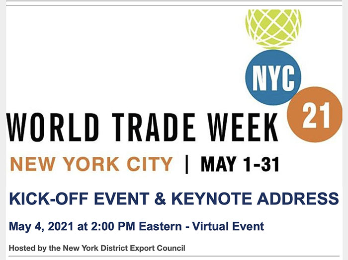 World Trade Week flyer