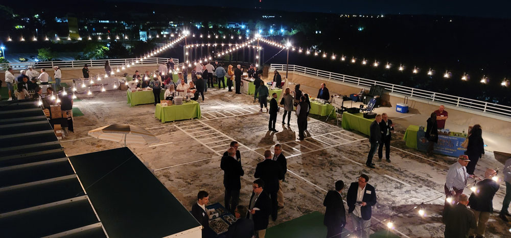 Long Island Food Council Rooftop event